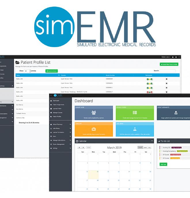Sim EMR covid19 solution image