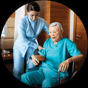 Geri geriatric manikin prepare healthcare workers