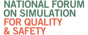 National forum on simulation for quality & safety tradeshow logo
