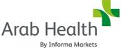 Arab Health tradeshow logo